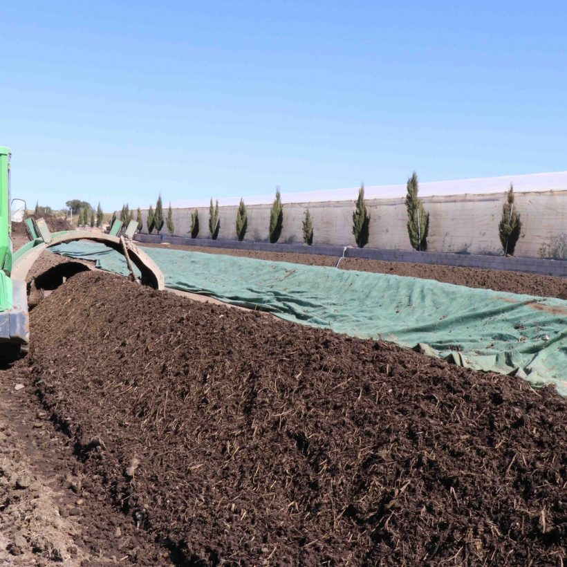 The Naturcharc organic composting plant celebrates 3 years since its launch