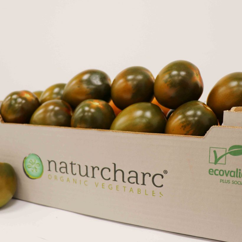 Naturcharc introduces a new star product in its production: the black plum tomato