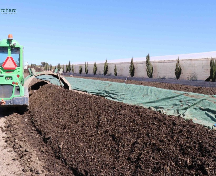 El compost de Naturcharc, cinco años como ejemplo de economía circular